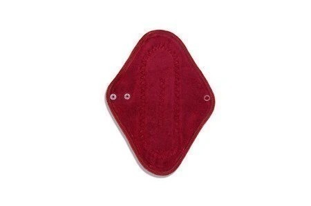 Podpaska wielorazowa MINI, Galaktyka/welur czerwony, KoKoSi (2)