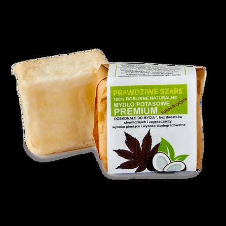 Naturalne mydło potasowe PREMIUM w kawałku, 100 g, Powrót do natury (1)