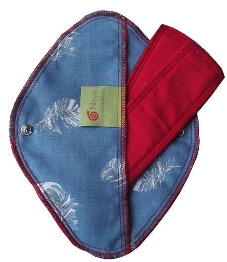 Zestaw 3x podpaska wielorazowa na dzień, Puch, Naya (1)