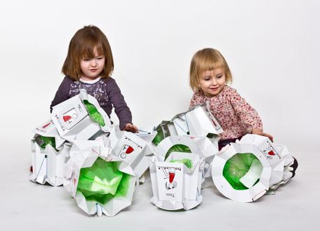 Dwupak - Składany jednorazowy nocnik dla dzieci - TRON (1)