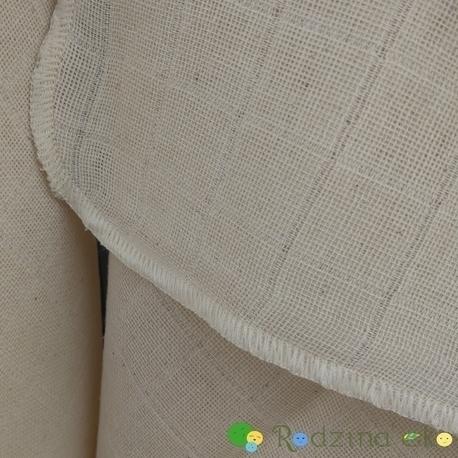 Pielucha tetrowa, 100% bawełna niebielona, 140 g/m2 – 60×60 cm, Dziobak (4)