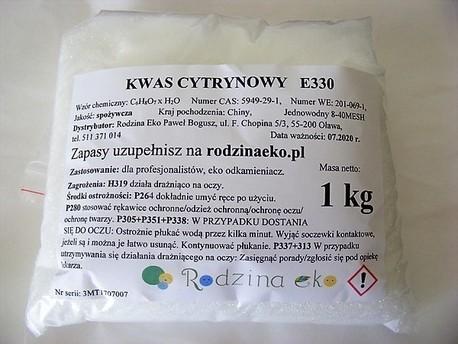 Kwas cytrynowy, 1 kg (1)