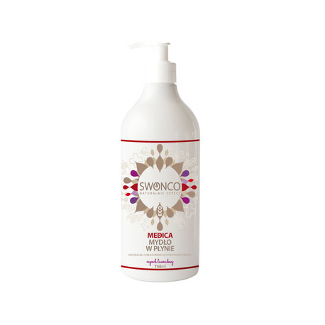 Odkażające mydło w płynie MEDICA, 750 ml, Swonco (2)