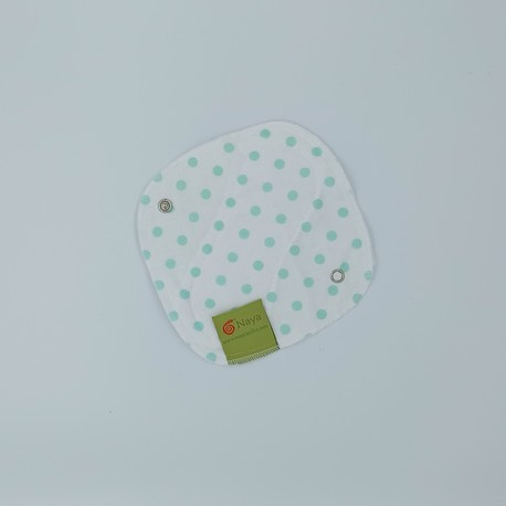 Mini podpaska wielorazowa/wkładka higieniczna, Kropeczki, Naya (1)