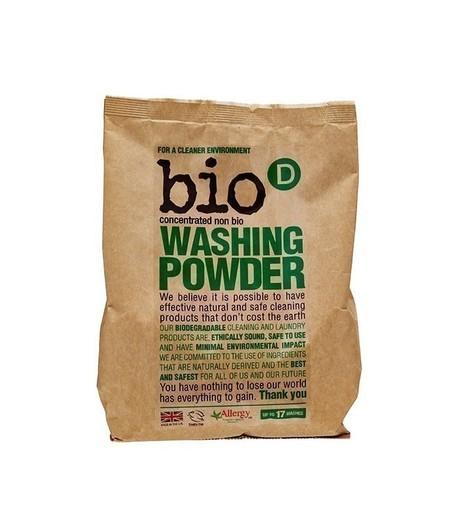 Skoncentrowany, hipoalergiczny, niebiologiczny proszek do prania, 1kg, Bio-D (1)