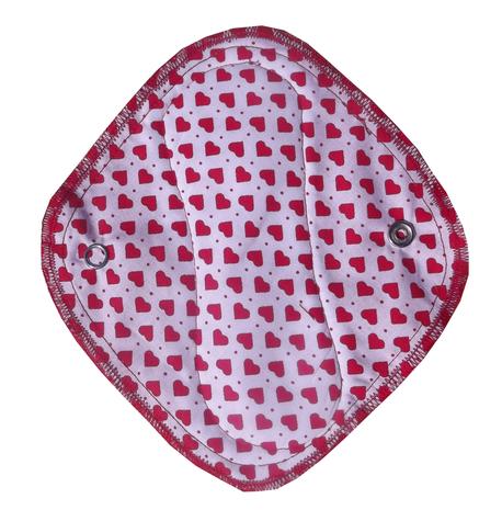 Zestaw 3x mini podpaska/wkładka higieniczna, Serduszka, Naya (1)