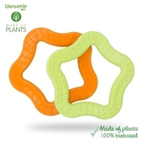 Gryzak sensoryczny biodegradowalny - zielony (2)