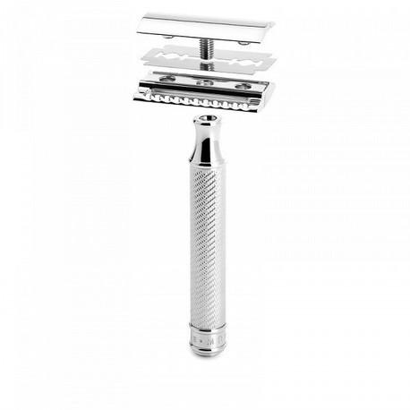 Maszynka do golenia na żyletki MÜHLE R89, zamknięty grzebień (3)