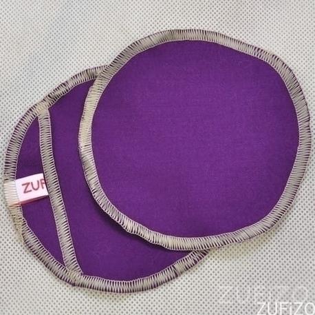 Wełniane kieszonki na wkładki laktacyjne, wielorazowe, Dojrzała śliwka, ZUFiZO (1)
