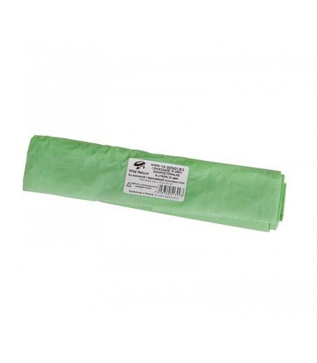 Worki na odpady organiczne, biodegradowalne i kompostowalne, 8L, rolka 25 sztuk, Wild Nature (1)