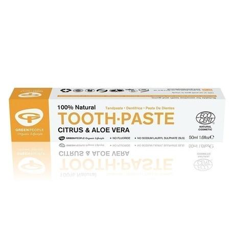 Cytrusowo-aloesowa pasta do zębów, 50 ml (1)