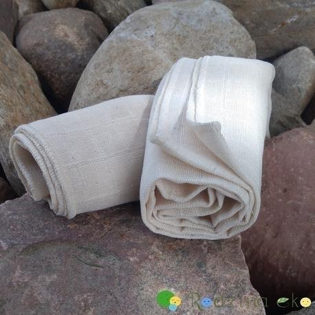 Pielucha tetrowa, 100% bawełna niebielona, 140 g/m2 – 60×60 cm, Dziobak (2)