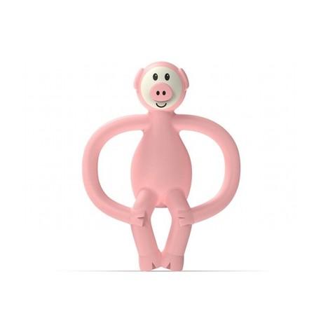 Gryzak Masujący ze Szczoteczką, Matchstick Monkey Animals Piggy (1)
