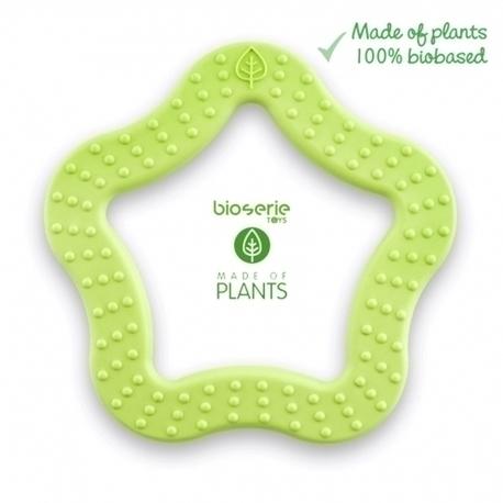 Gryzak sensoryczny biodegradowalny - zielony (1)