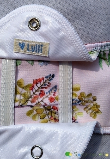 Wielorazowa podpaska, Nocna/połogowa, Słodka akacja, Lulli (5)