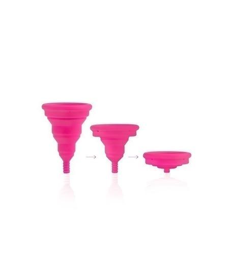 Składany kubeczek menstruacyjny, Lily Cup Compact, Rozmiar B, INTIMINA (4)