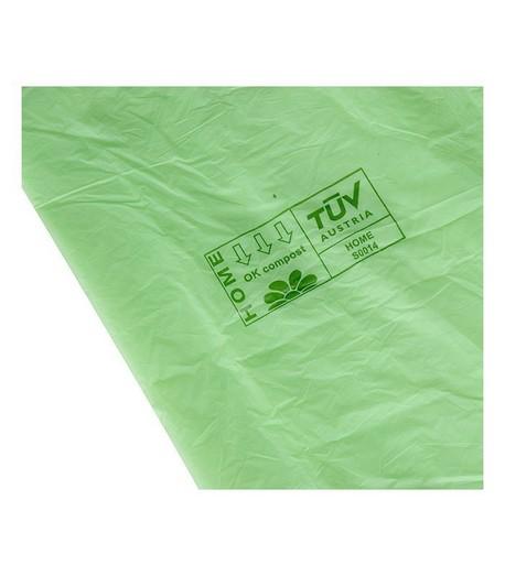 Worki na odpady organiczne, biodegradowalne i kompostowalne, 8L, rolka 25 sztuk, Wild Nature (3)