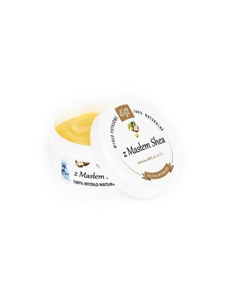 Mydło potasowe szare z masłem Shea, 80 g  (2)